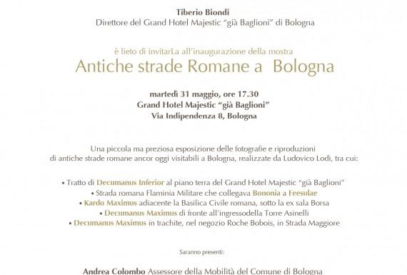 strade romane a Bologna